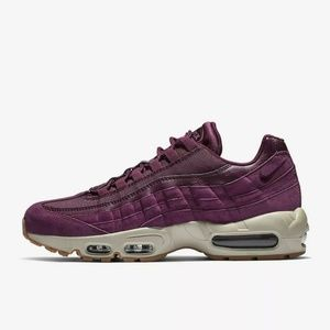 New Nike Air Max 95 SE Bordeaux Men's 9.5